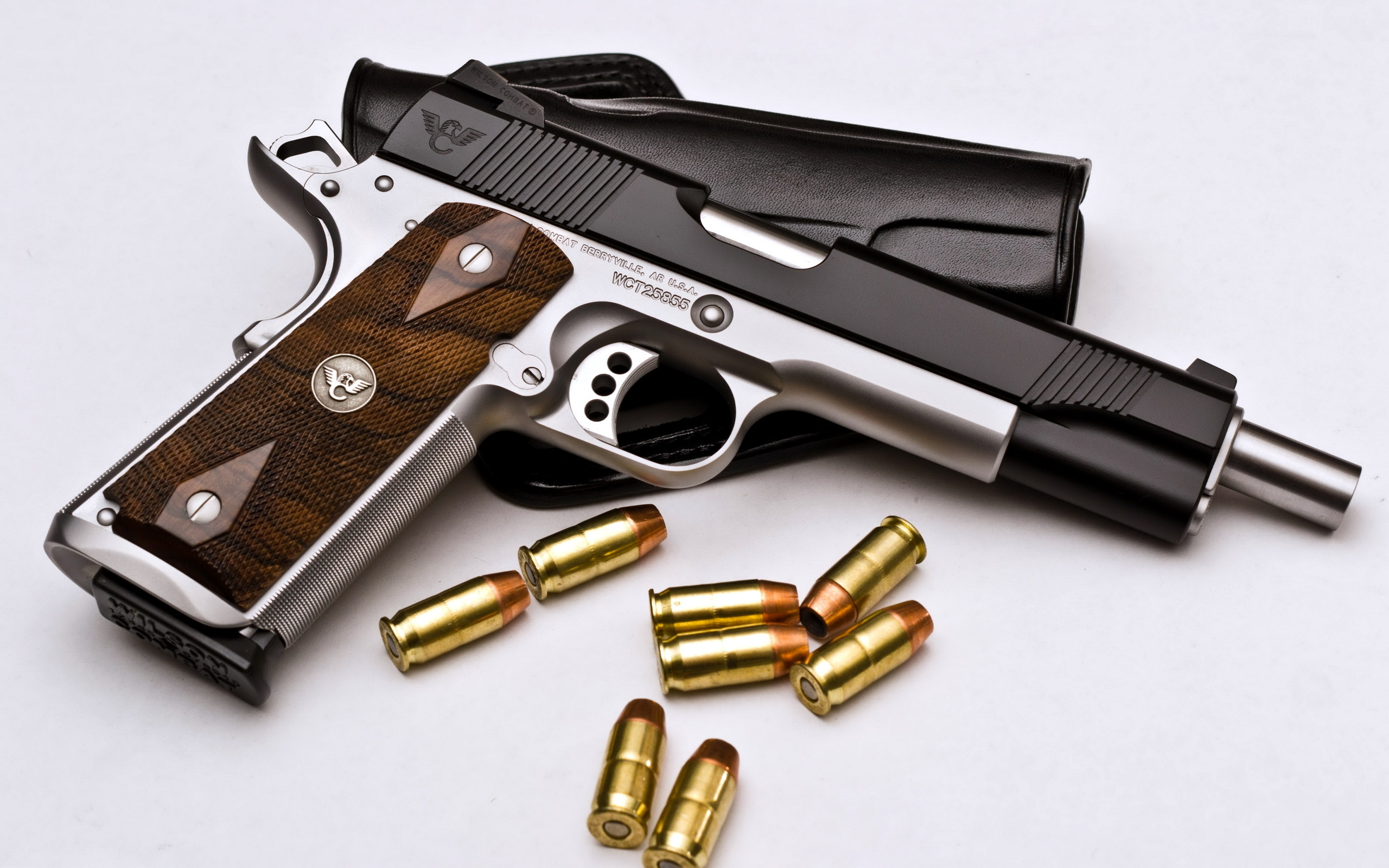 Weapons   Wilson Combat Pistol Weapon Pistol Wallpaper 2560x1600