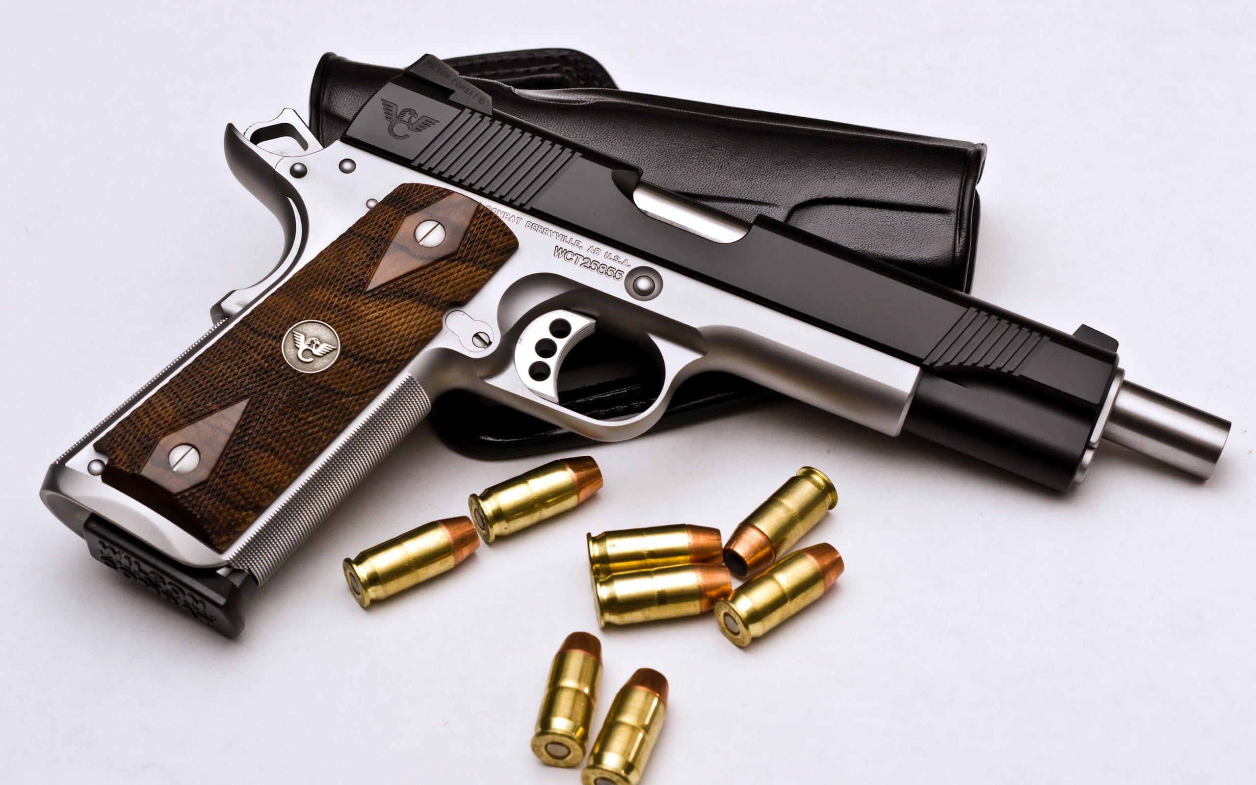 Weapons   Wilson Combat Pistol Weapon Pistol Wallpaper 2560x1600