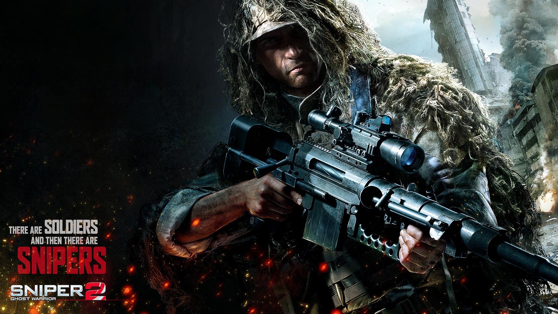 Sniper 2 Ghost Warrior Game Wallpaper 1920x1080 HD Wallpaper Games 1920x1080
