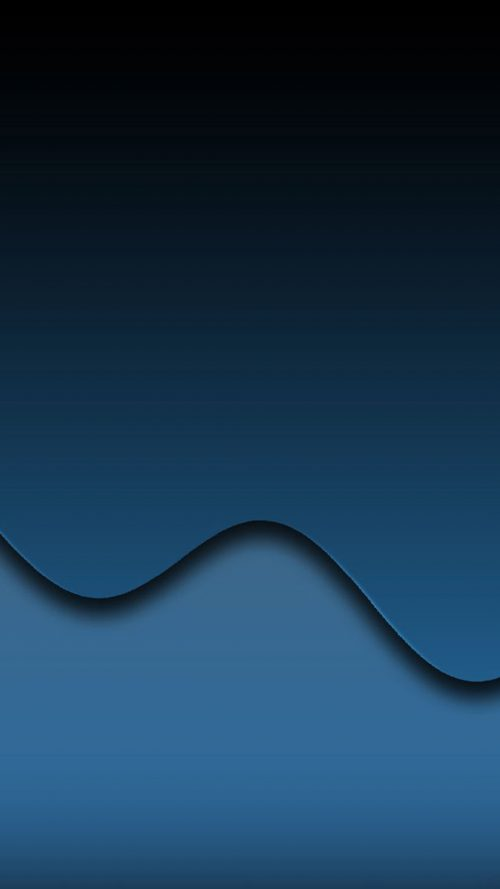 Cool Phone Wallpapers 03 of 10 with Black Wave for Samsung 500x889