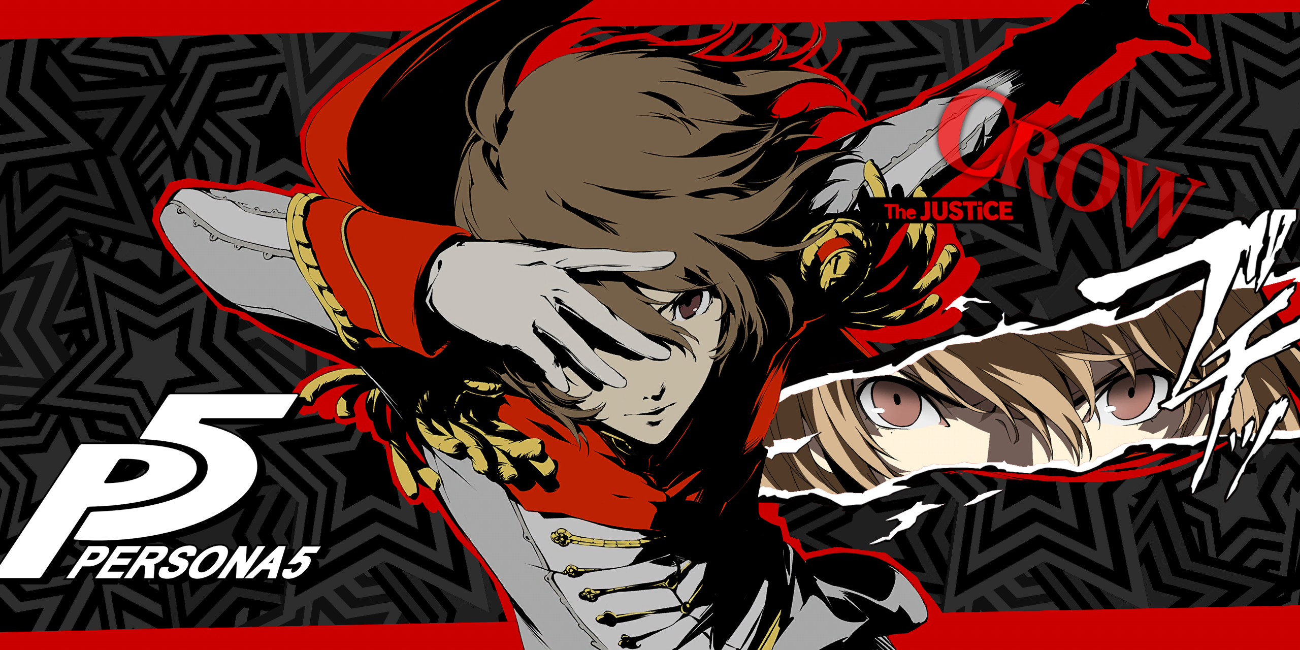 Persona 5 Goro AkechiCrow Persona 5 Persona Persona 5 goro 2560x1280