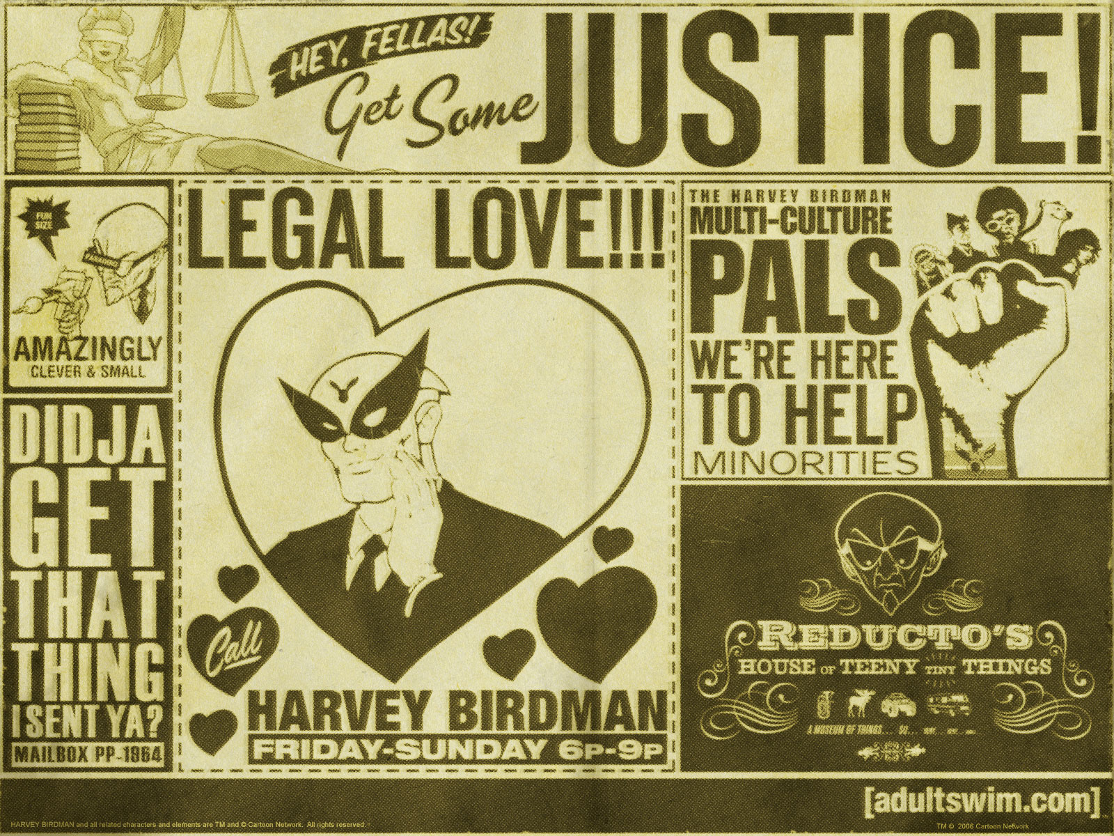 Harvey Birdman   Harvey Birdman Attorney at Law Wallpaper 153659 1600x1200