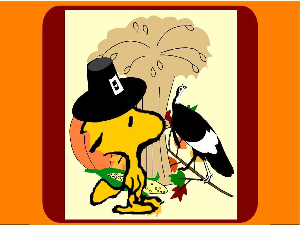 Snoopy Thanksgiving Wallpapers 1024x768