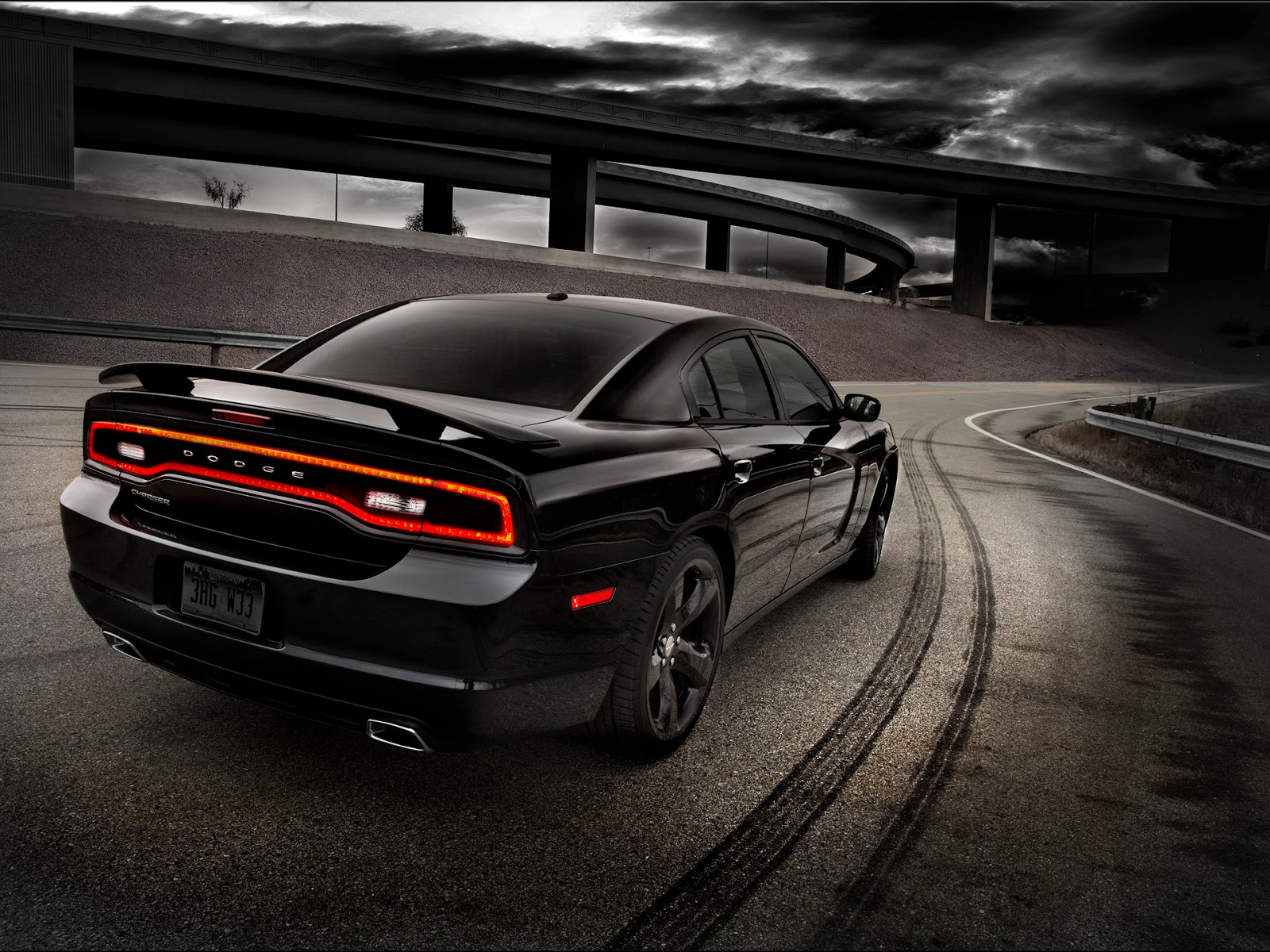 HD Wallpapers 2012 Dodge Charger RT Wallpapers 1600x1200