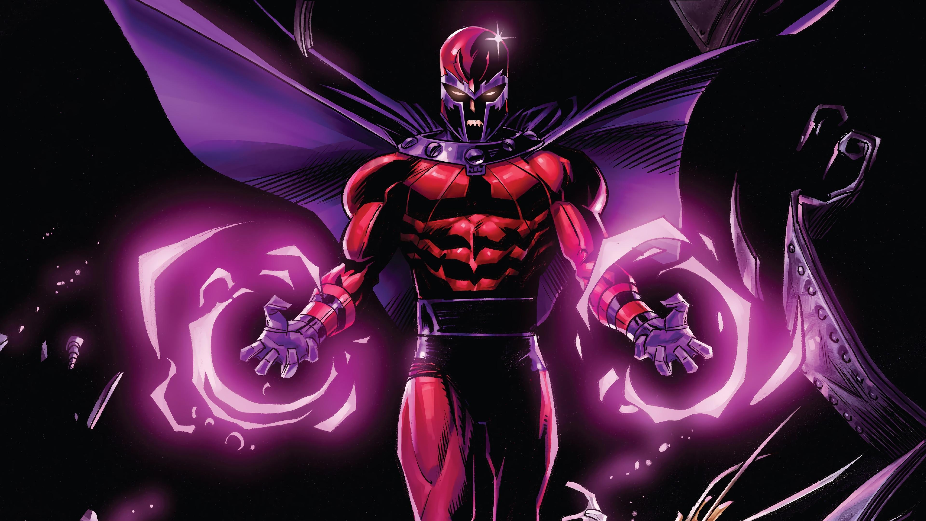 Magneto Marvel Comics 4K 4276 3840x2160