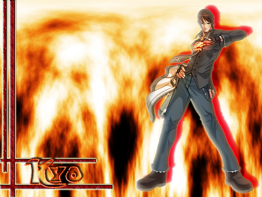 King of Fighters Wallpaper Kyo   Minitokyo 1024x768