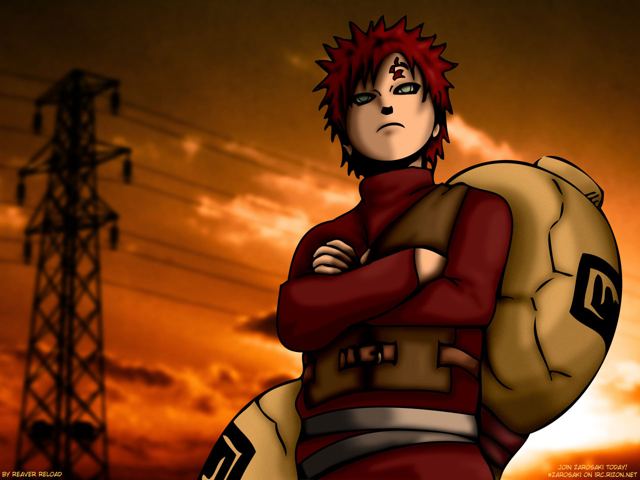 Download Anime Wallpaper Gaara HD Naruto Movie 1280x960