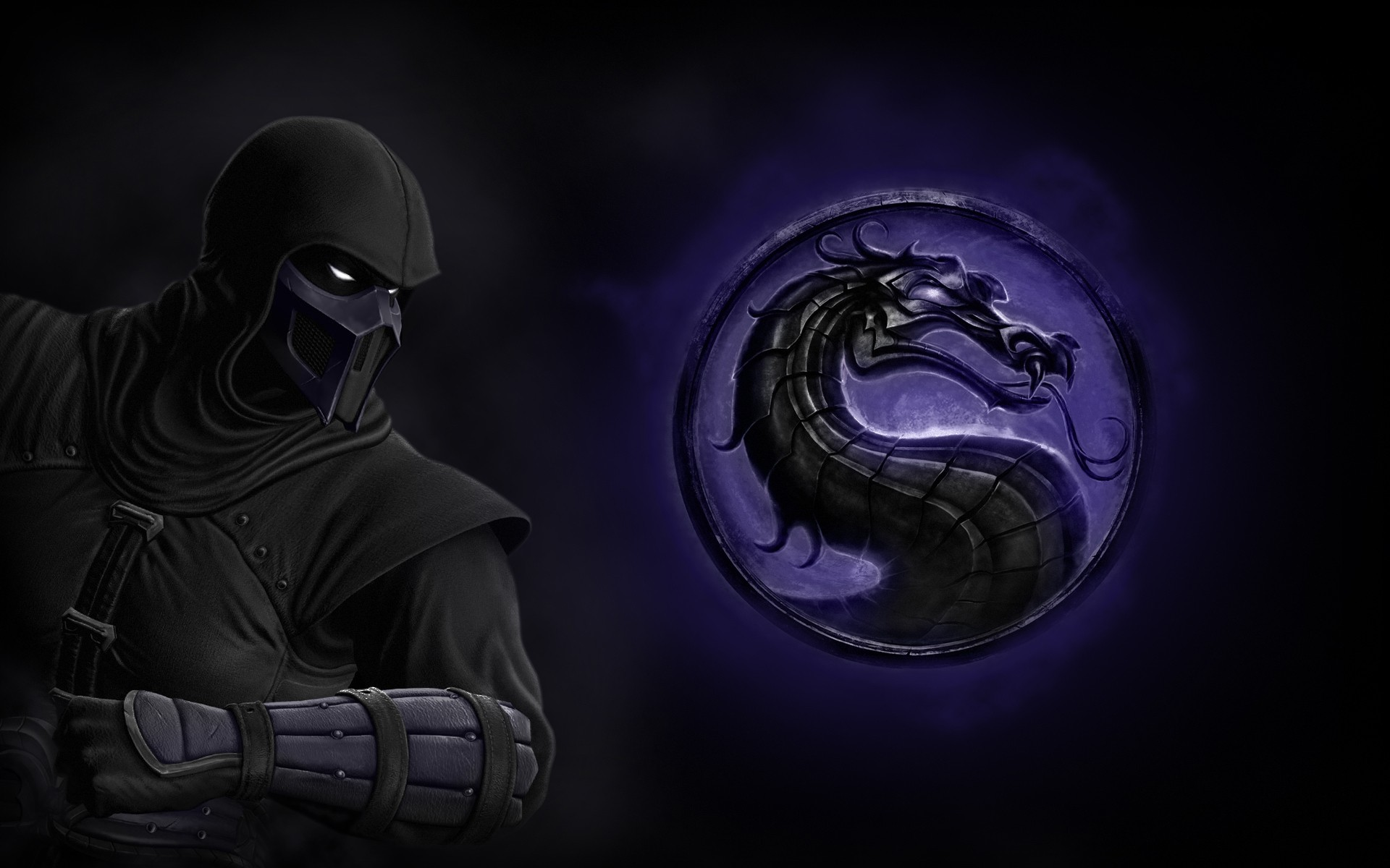 1080p mortal kombat logo wallpaper
