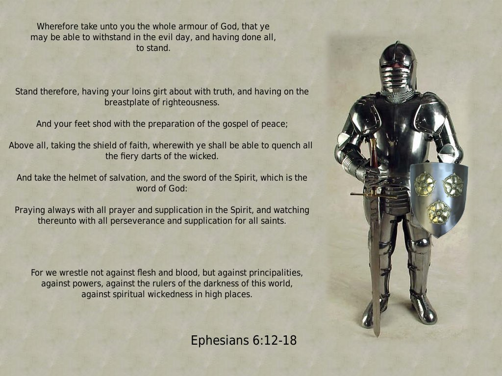 New Covenant Journal Spiritual Warfare And The Armour Of God 1024x768