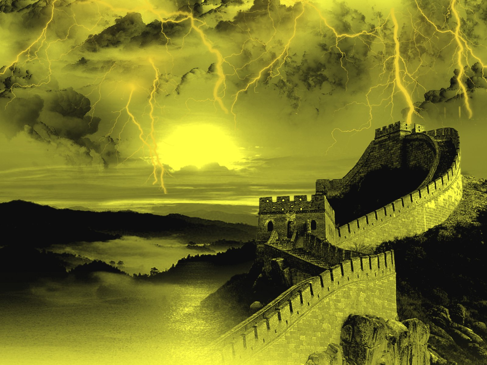 Great Wall of China Wallpaper and Background Image 1600x1200 1600x1200