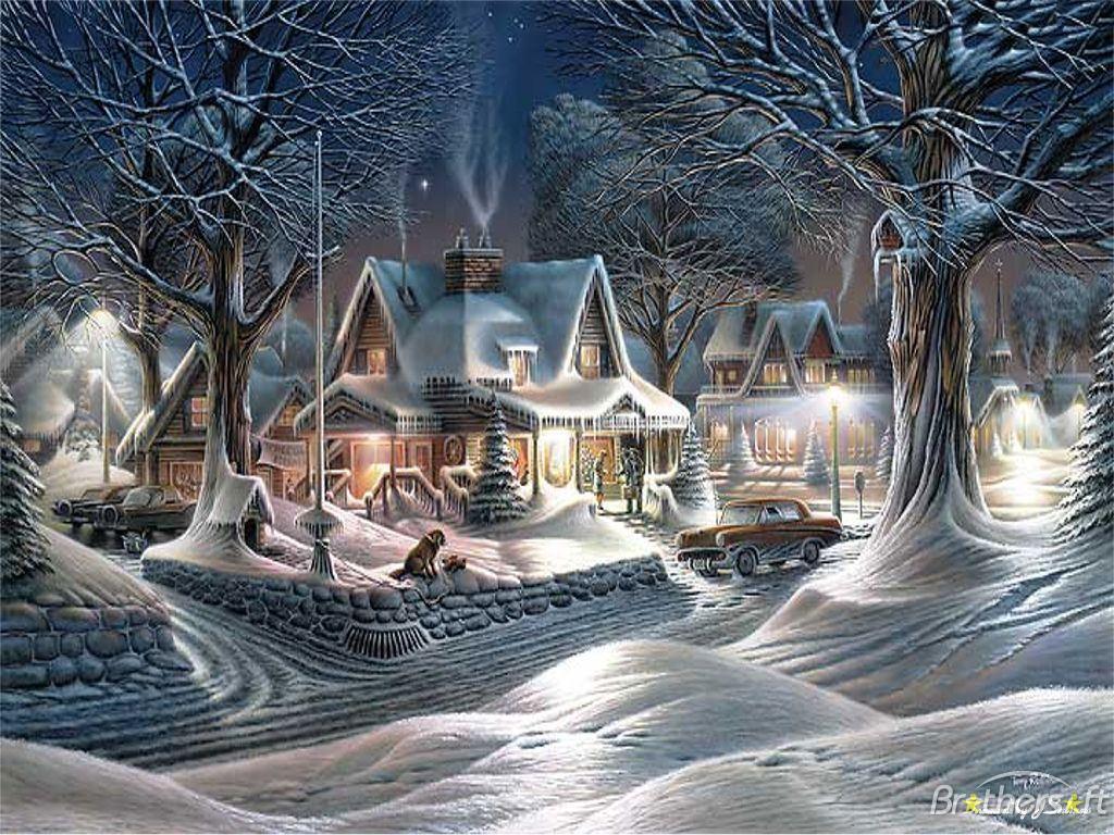 Christmas Frosty Season Theme Christmas Frosty Season Theme Download 1024x768