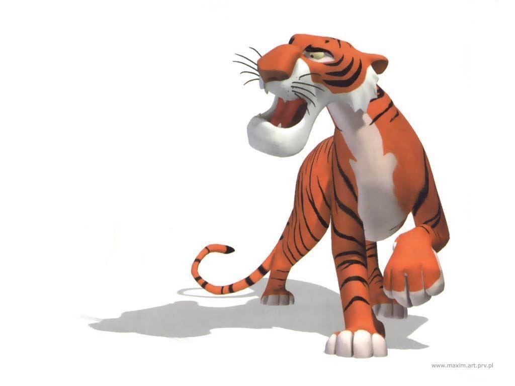 tigercartoonanimalbildcartoontiger 1024x768