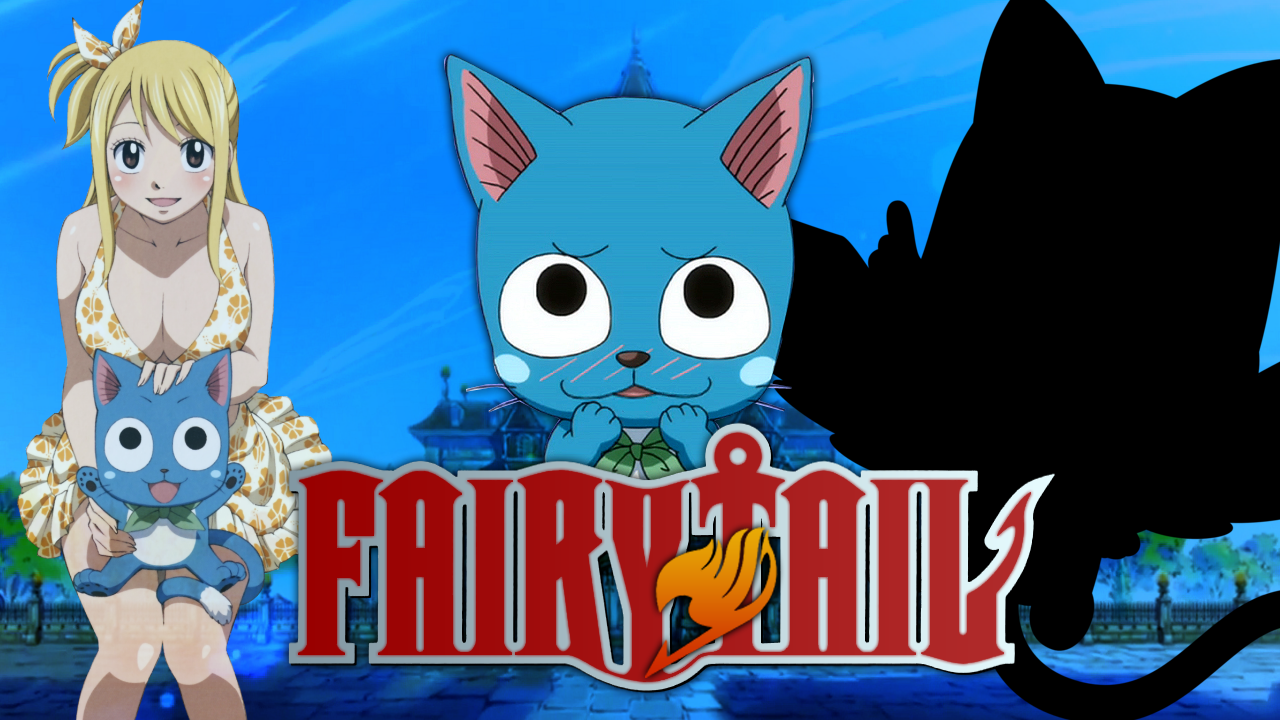 Fairy Tail Wallpaper Happy by MoshiBrah 1280x720