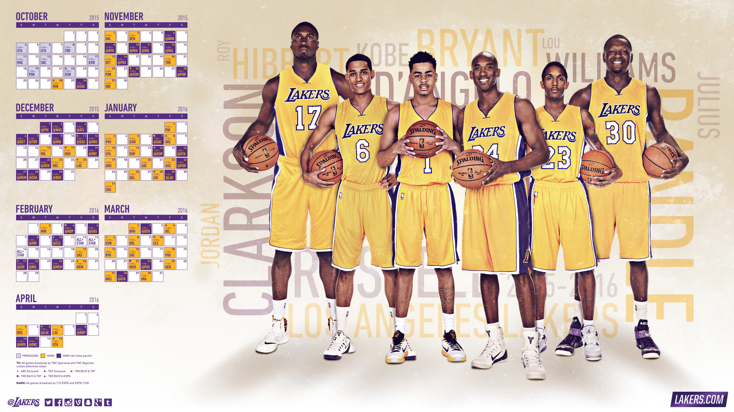 Lakers Wallpapers 77 images 2560x1440