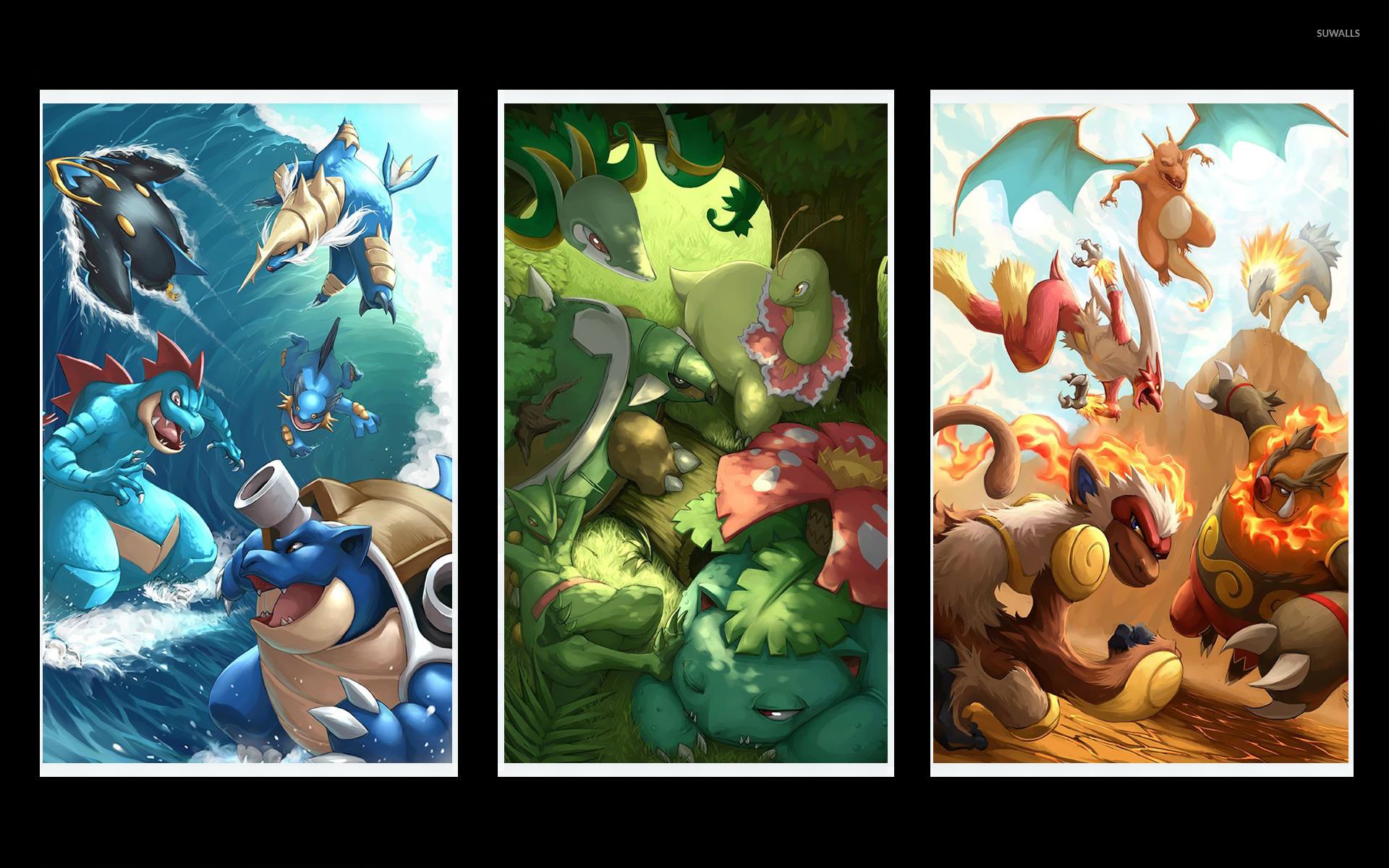 Pokemon Mobile Image Is 4K Wallpaper > Yodobi |Starter Pokemon Phone Wallpaper
