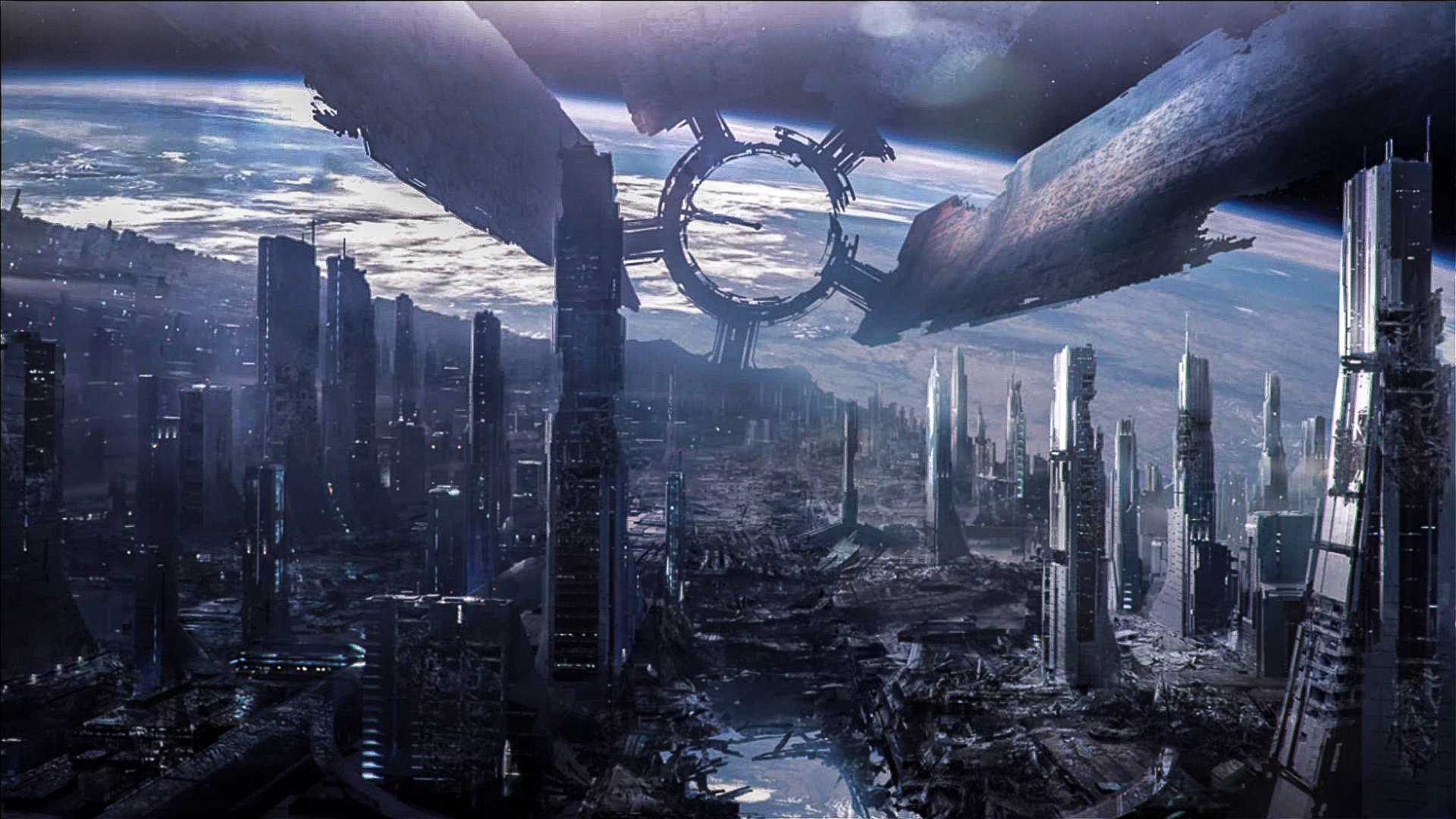 Mass Effect 3 Destroyed Citadel by droot1986 1920x1080