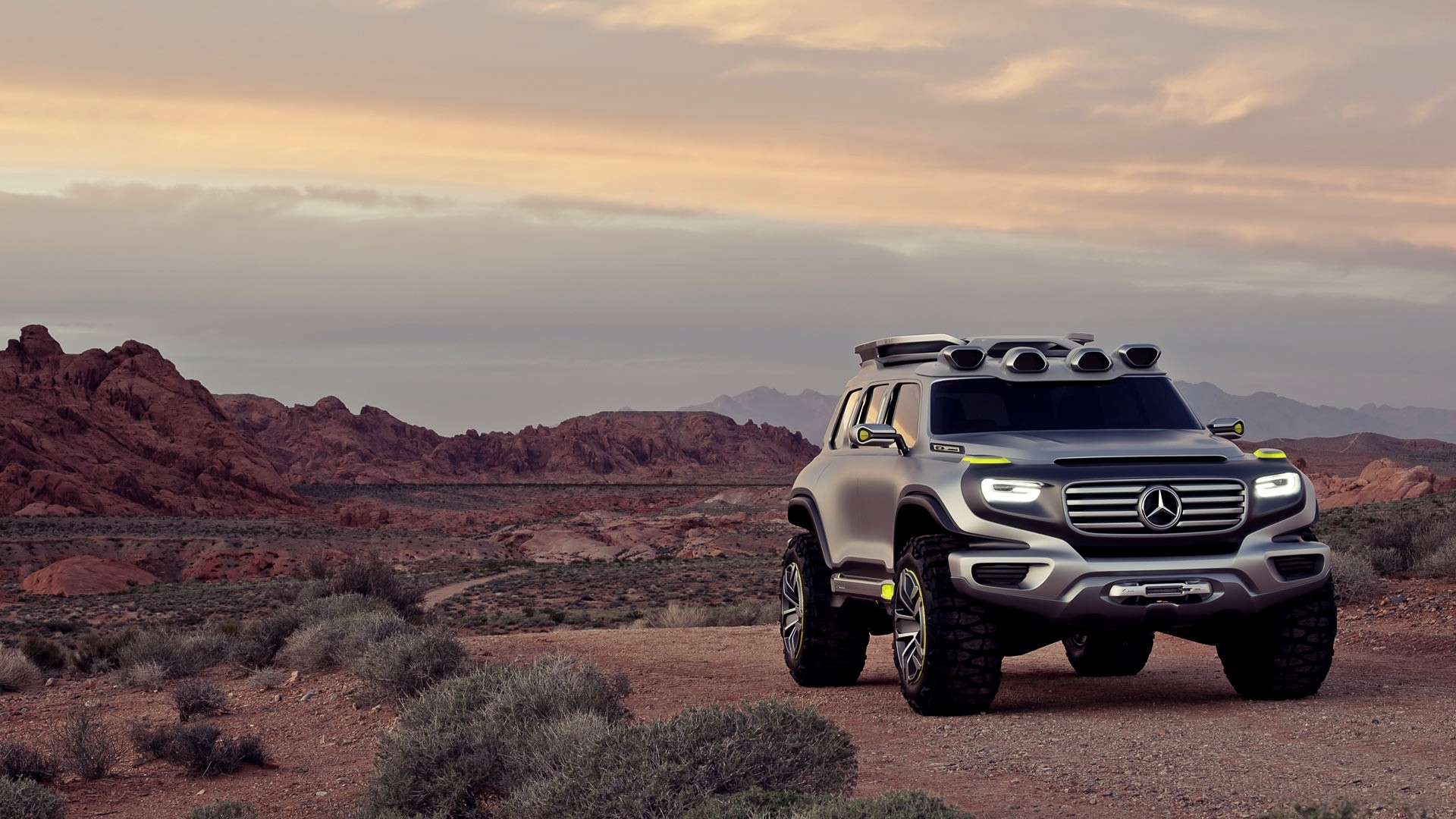 Free Download Cars Desert Concept Cars Suv Offroad Mercedes Benz