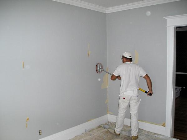 Drywall Repair Drywall Repair After Removing Wallpaper Is Primer 600x449