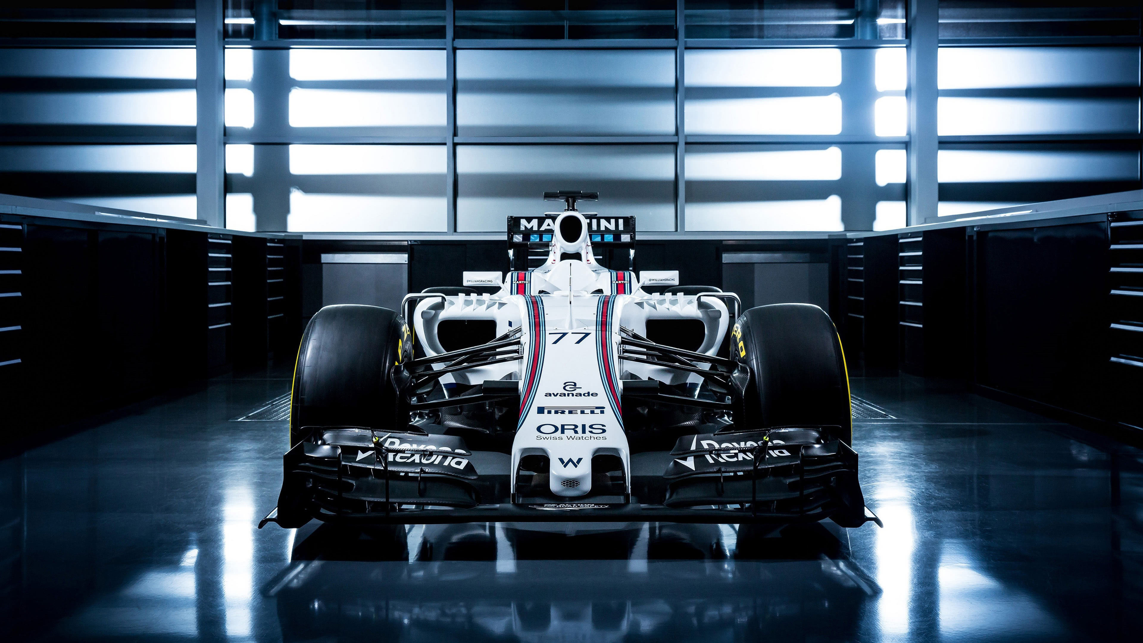 Williams FW38 f1 Fornt UHD 4K Wallpaper Pixelz 3840x2160