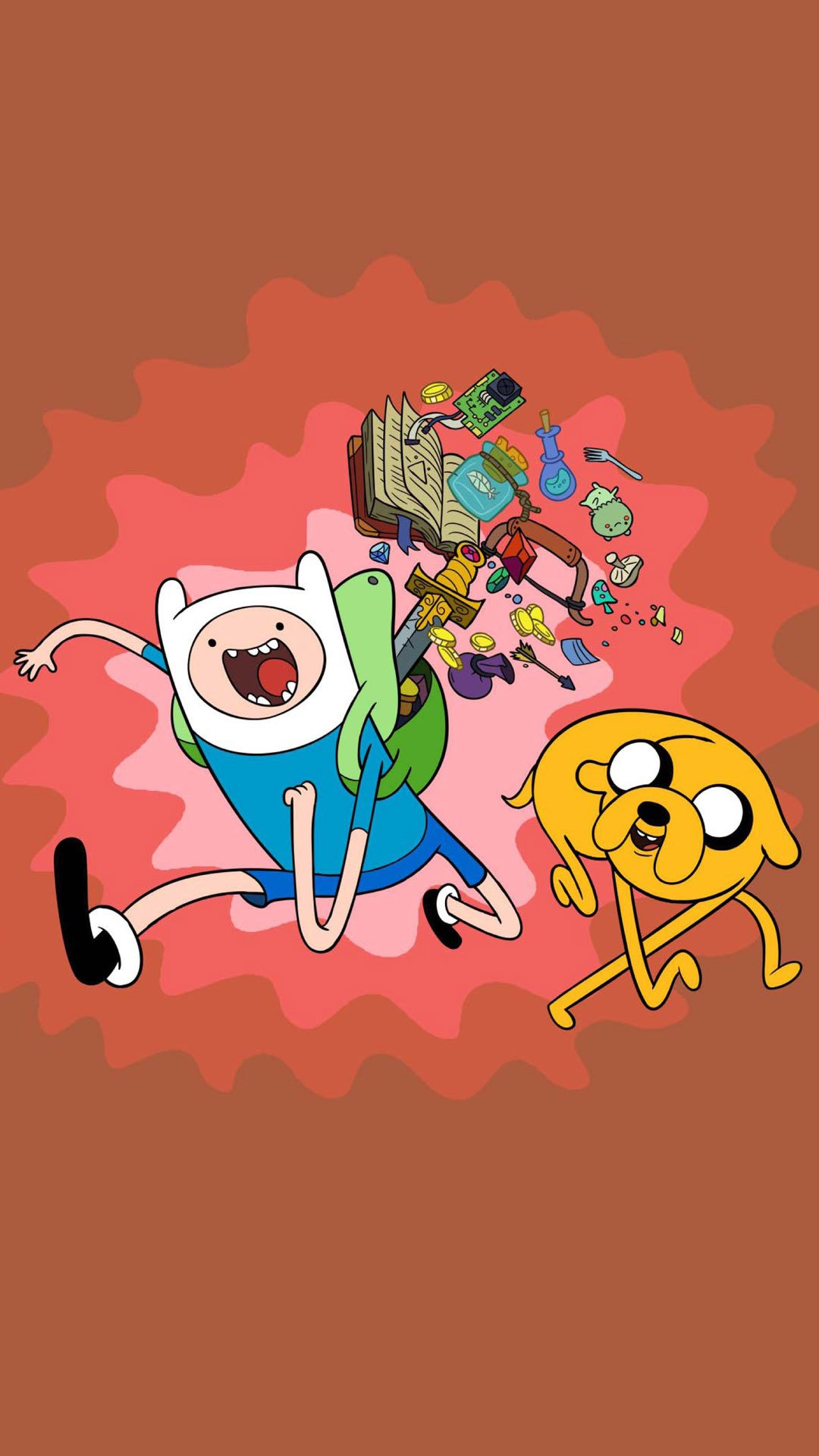 hd finn jake adventure time wallpapers for mobile 720x1280 1080x1920
