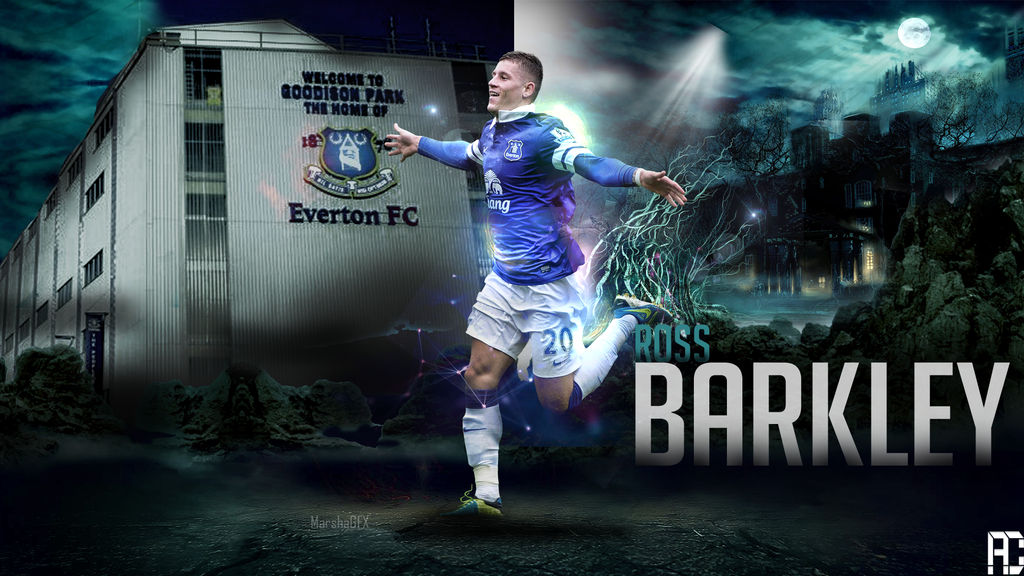 Ross Barkley Wallpaper Work by ANILDD11 1024x576