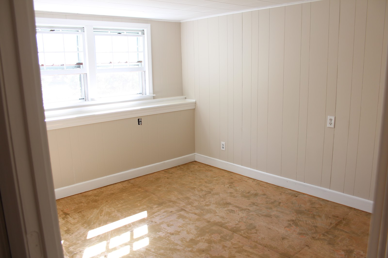 Painting over wood paneling before and after - Http 4 Bp Blogspot Com U_tszb8cpgu T3s