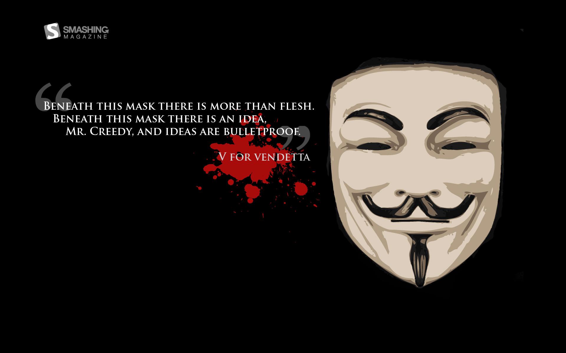 Nice V for Vendetta wallpaper V for Vendetta wallpapers 1920x1200