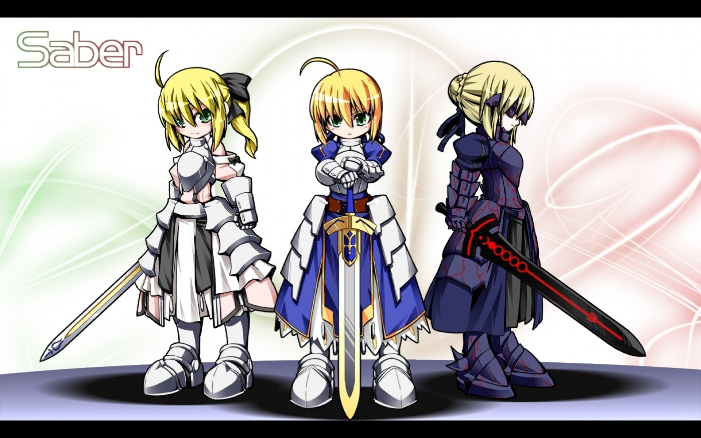 Fate Stay Night images Saber wallpaper photos 9631606 1400x875