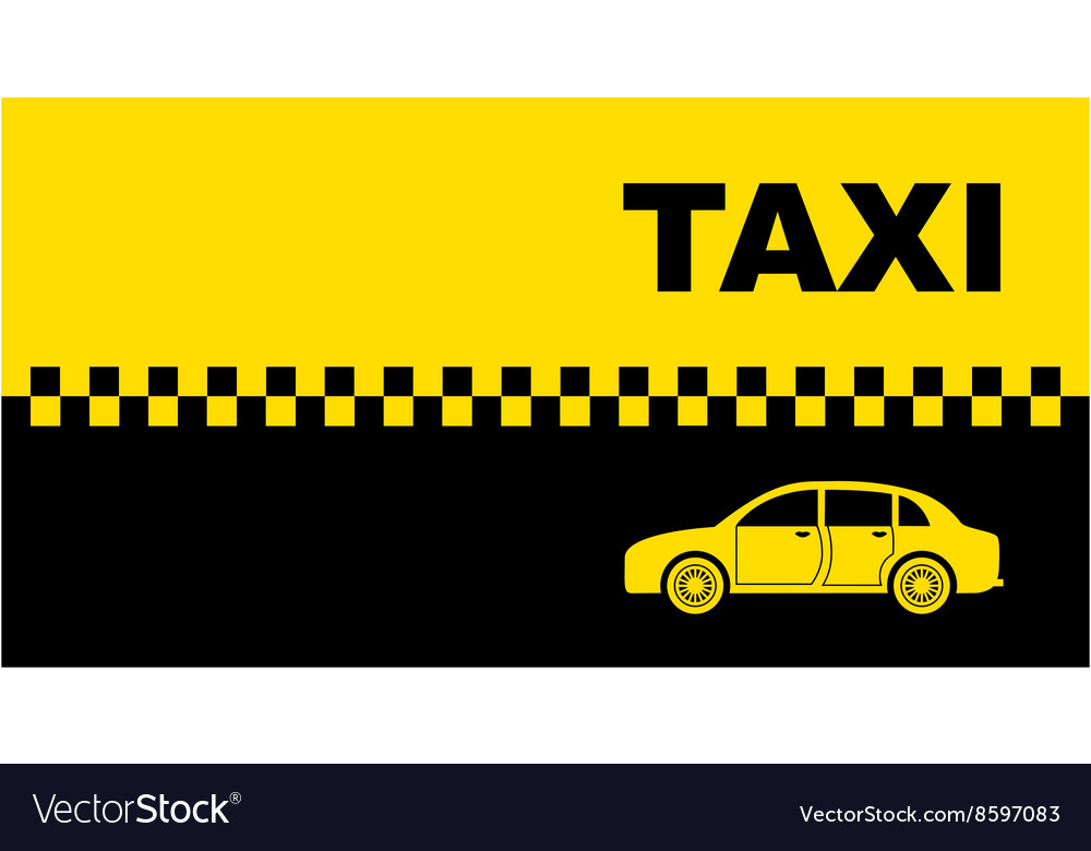 Private Taxi Business Card Vector Images 29 1000x780