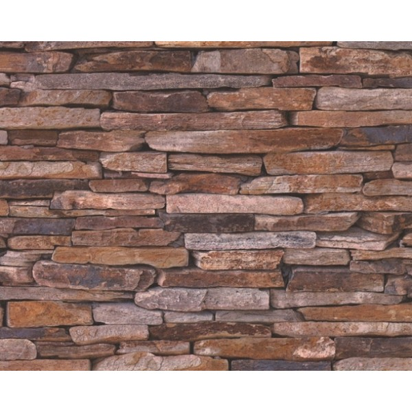Stone Wall Look Wallpaper - Wallpaper Brokers Melbourne Australia