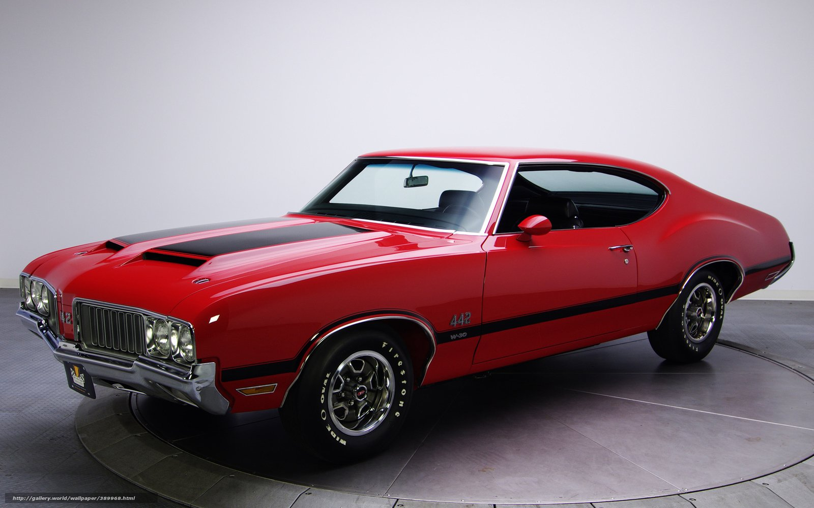 Download wallpaper Oldsmobile muscle car retro classic desktop 1600x1000