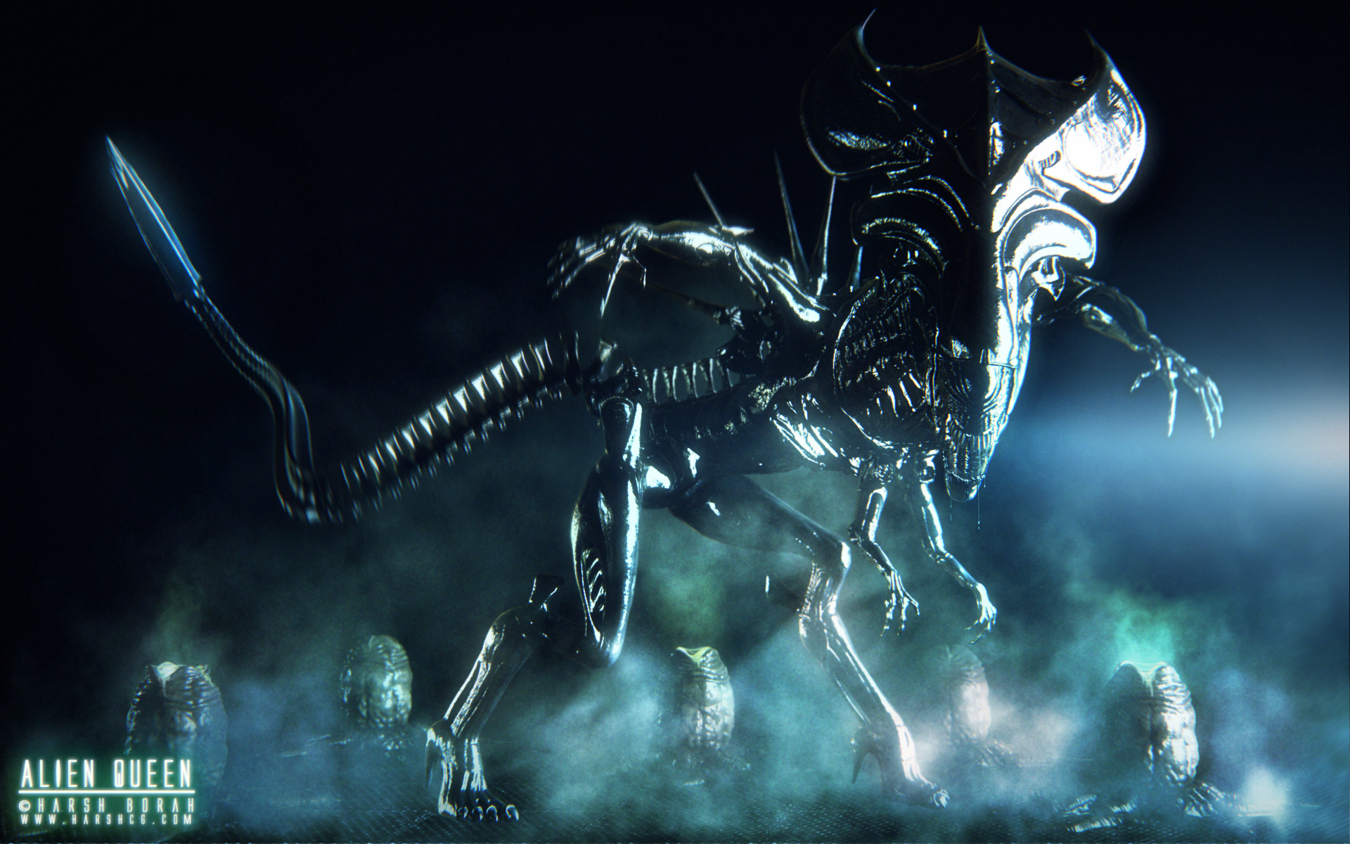 aliens queen xenomorph wallpaper Aliens Pinterest 1920x1200