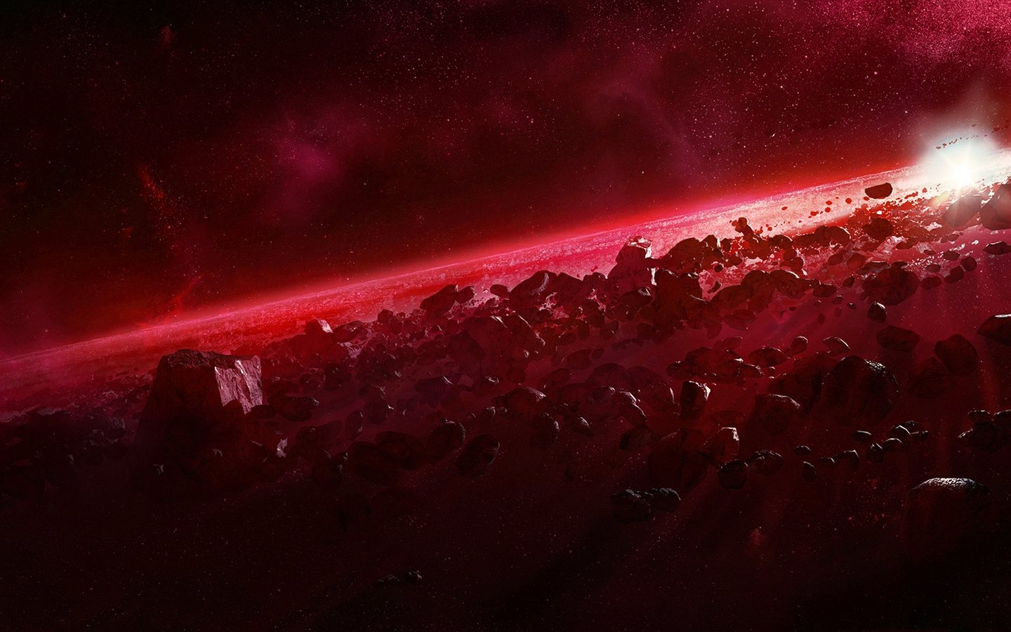 Red space wallpaper wallpapersafari - Red space wallpaper 4k ...