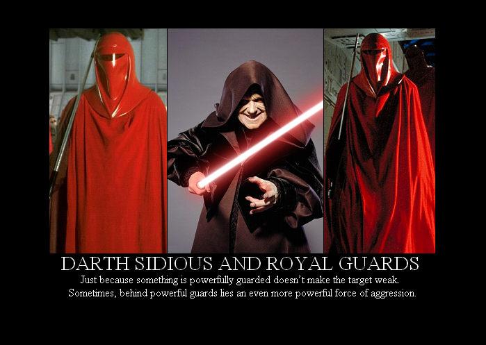 Sidious and Royal Guards by Winter Phantom 699x497