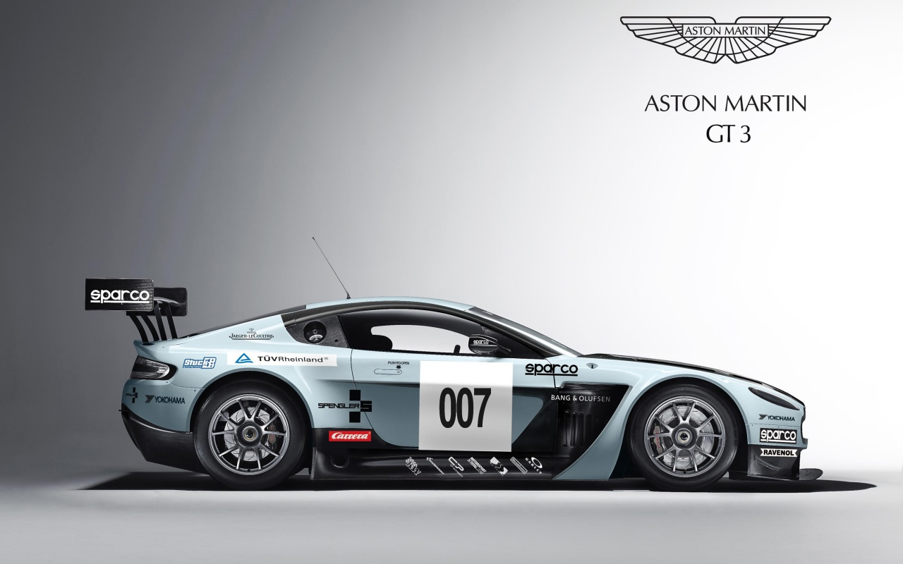 Aston Martin V12 Vantage GT3 Wallpapers HD Wallpapers 1280x800