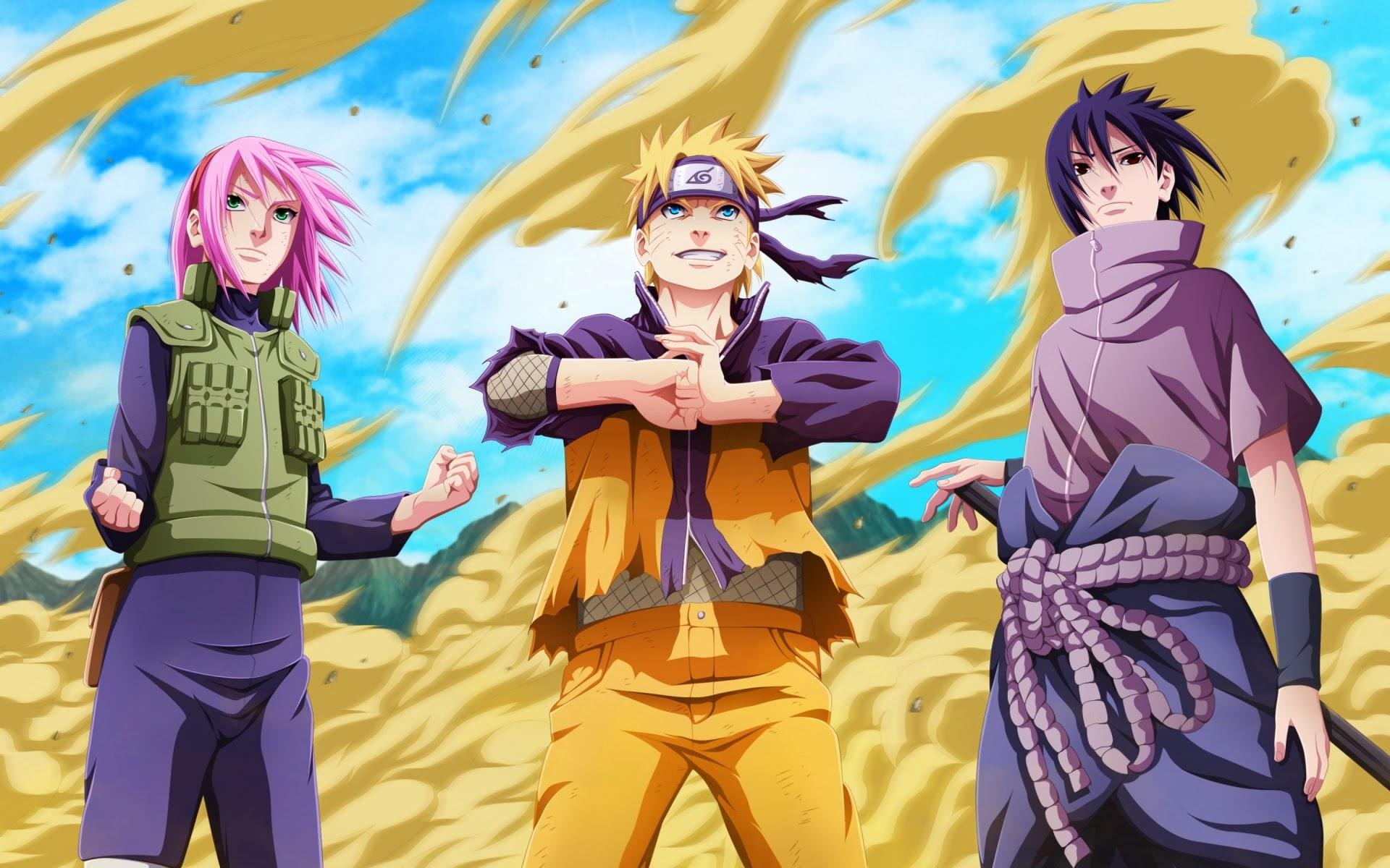 46 Naruto Sasuke Sakura Wallpaper On Wallpapersafari
