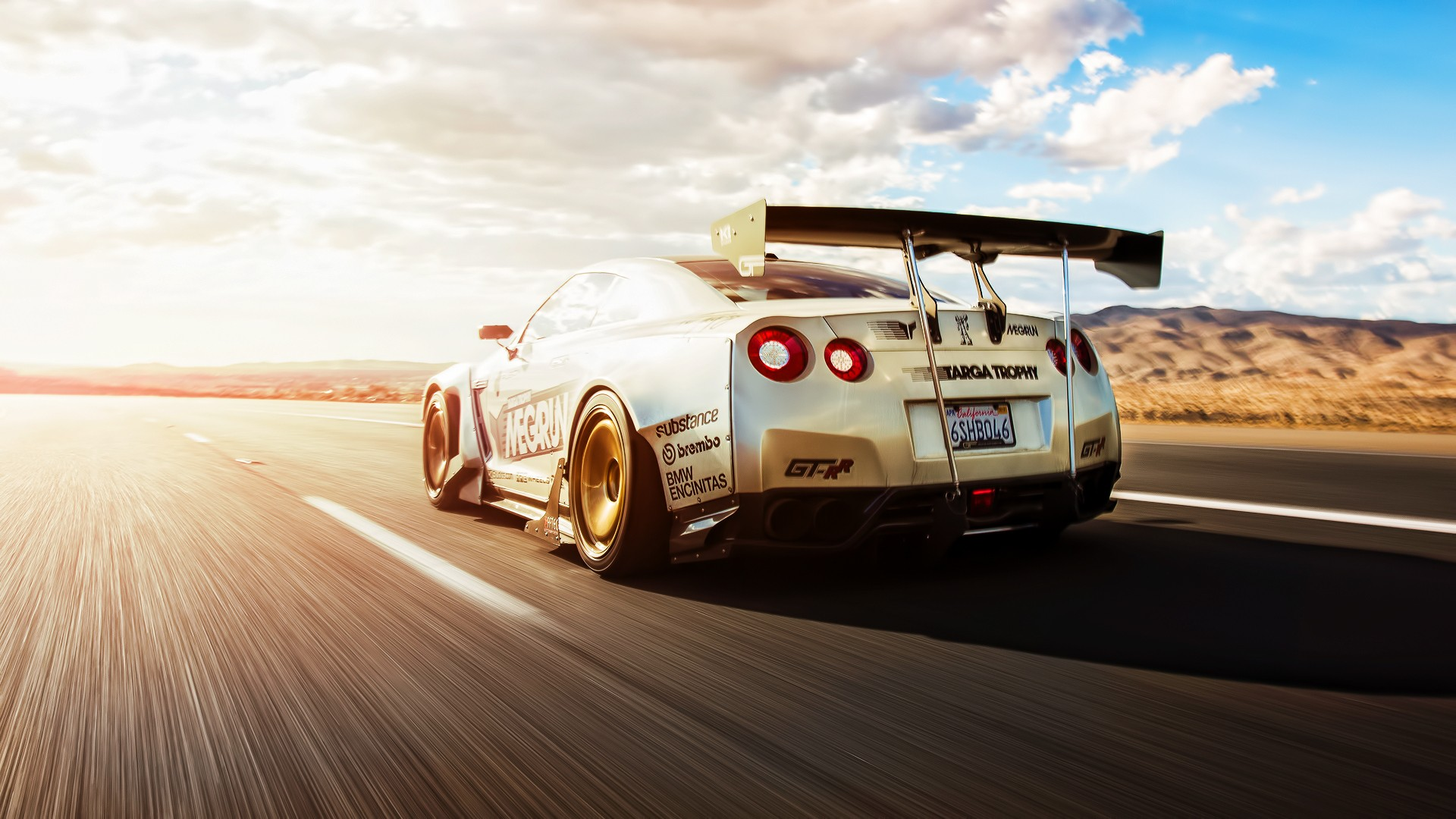 Marvelous Car Tuning Nissan Skyline GT R R35 Wallpapers HD 1920x1080