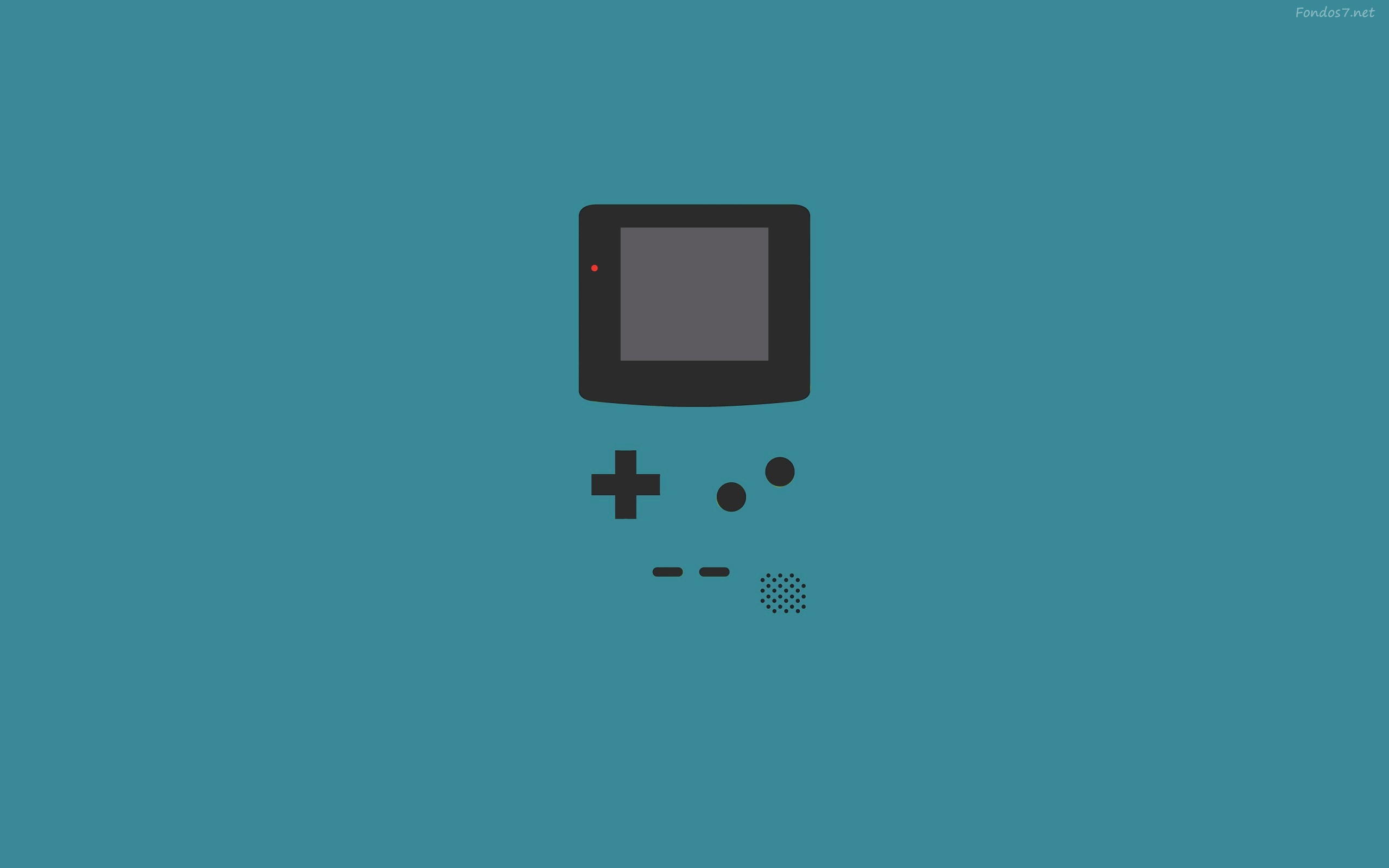 Game boy advance vector 2560x1600