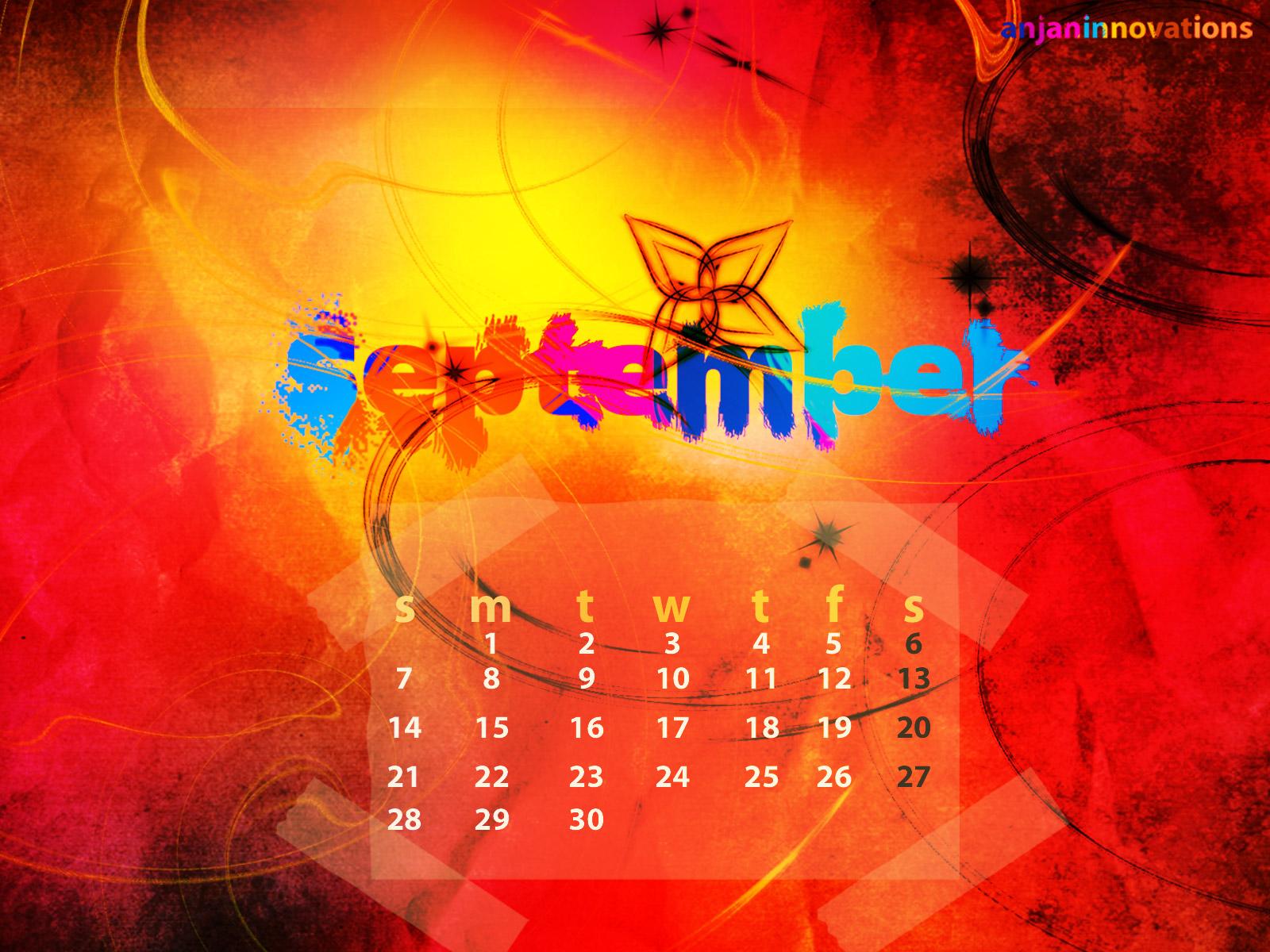 September Desktop Wallpaper Anjheros Weblog 1600x1200