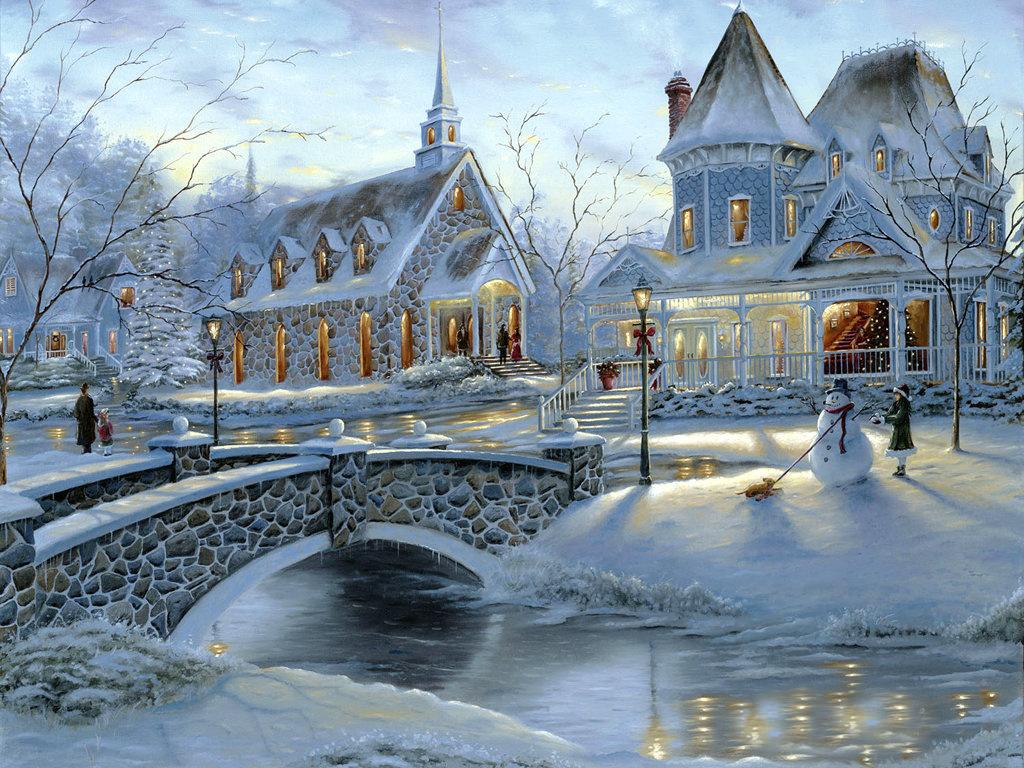 Christmas Desktop Wallpapers 1024x768