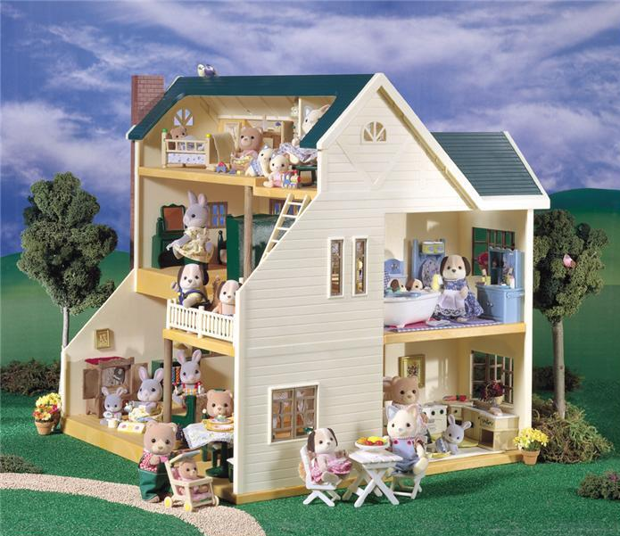 Calico Critters Deluxe Village House 695x601
