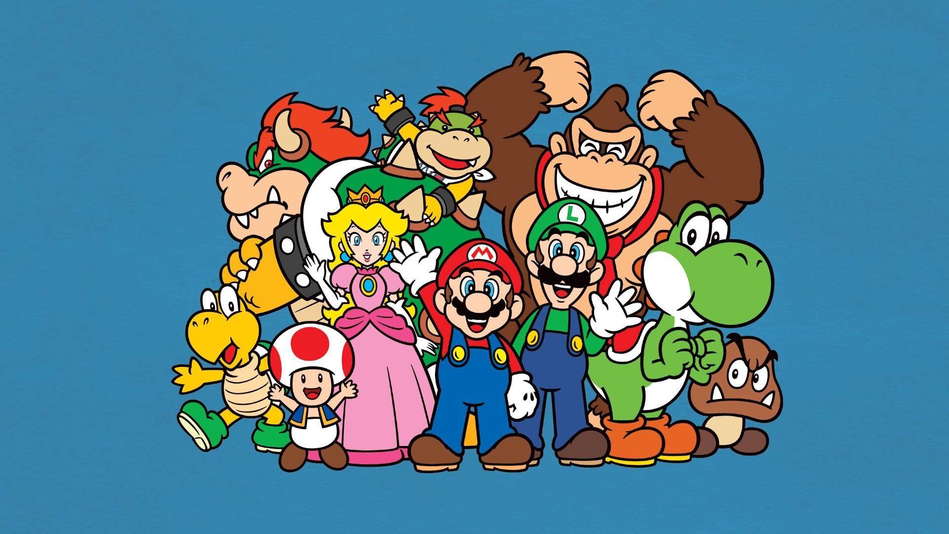 Nintendo Desktop Wallpapers   Top Nintendo Desktop 1920x1080