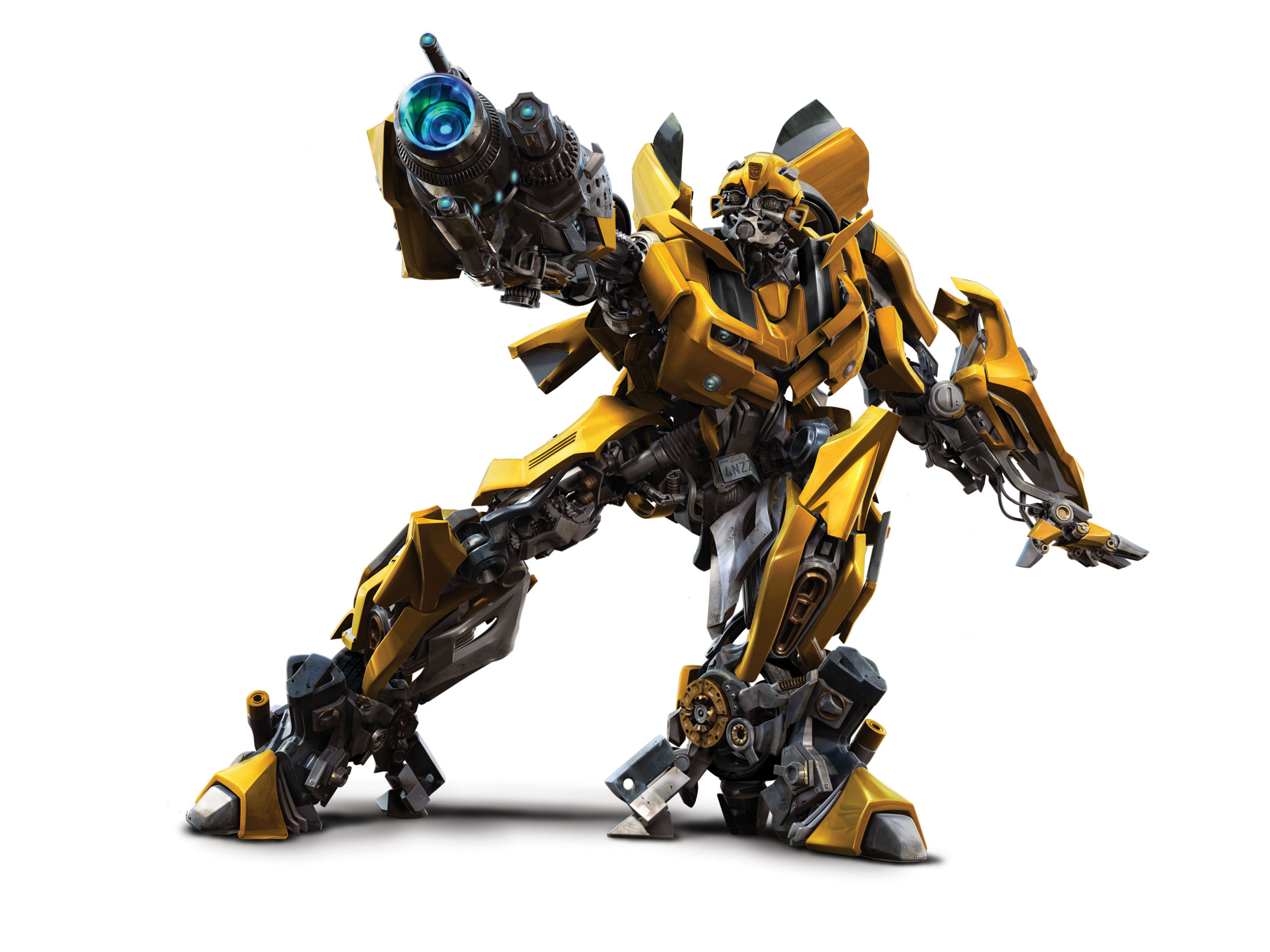 Bumblebee got a new look Michael Bay posted a photo of Bumblebee on 2560x1920