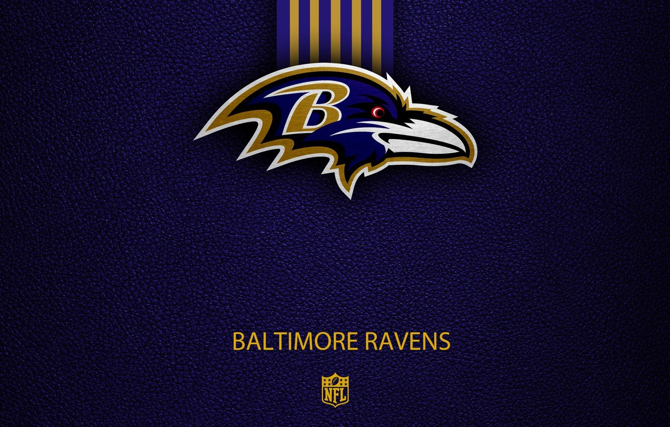 Wallpaper wallpaper sport logo NFL Baltimore Ravens images for 1332x850