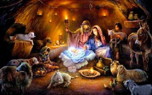 Amazing Christmas Nativity Wallpapers 520x325