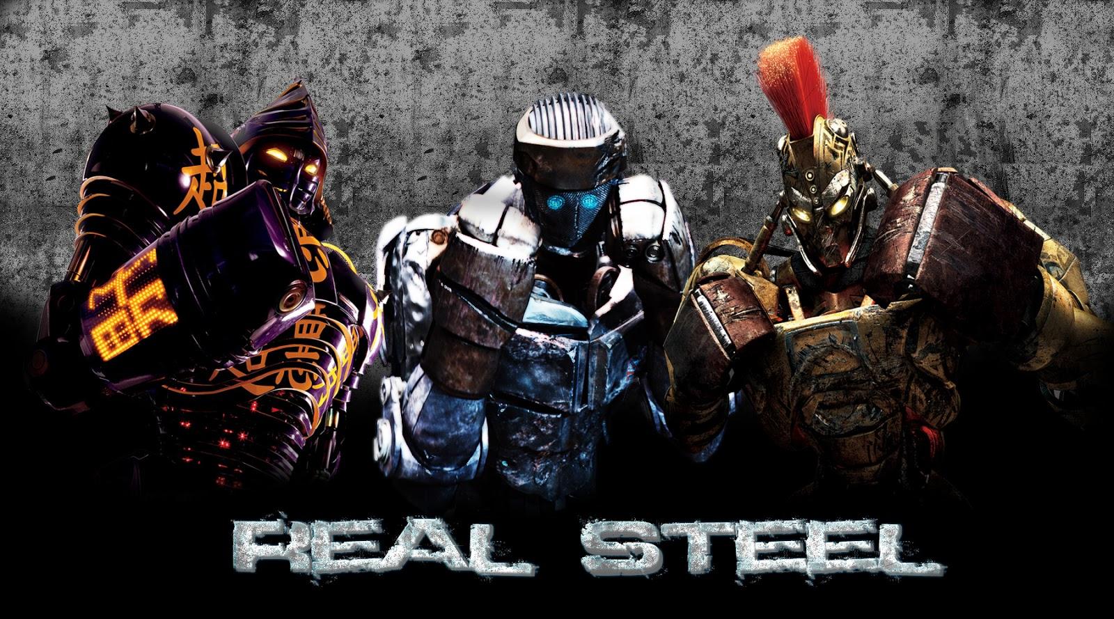 download real steel hd mod apk