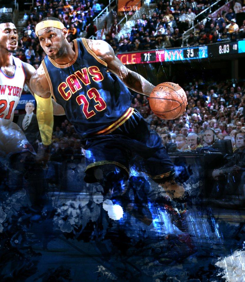 LeBron James Cleveland Cavaliers 2 by emanproedits on DeviantArt