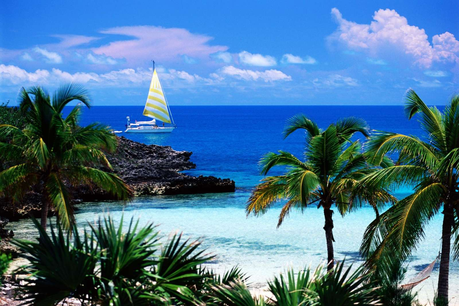 Caribbean Scenes Wallpapers   Download Eleuthera Point Harbour 1600x1067