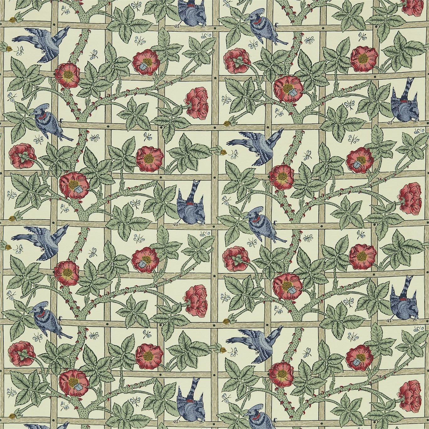 Original Morris Co   Arts and crafts fabrics and wallpaper designs 1366x1366