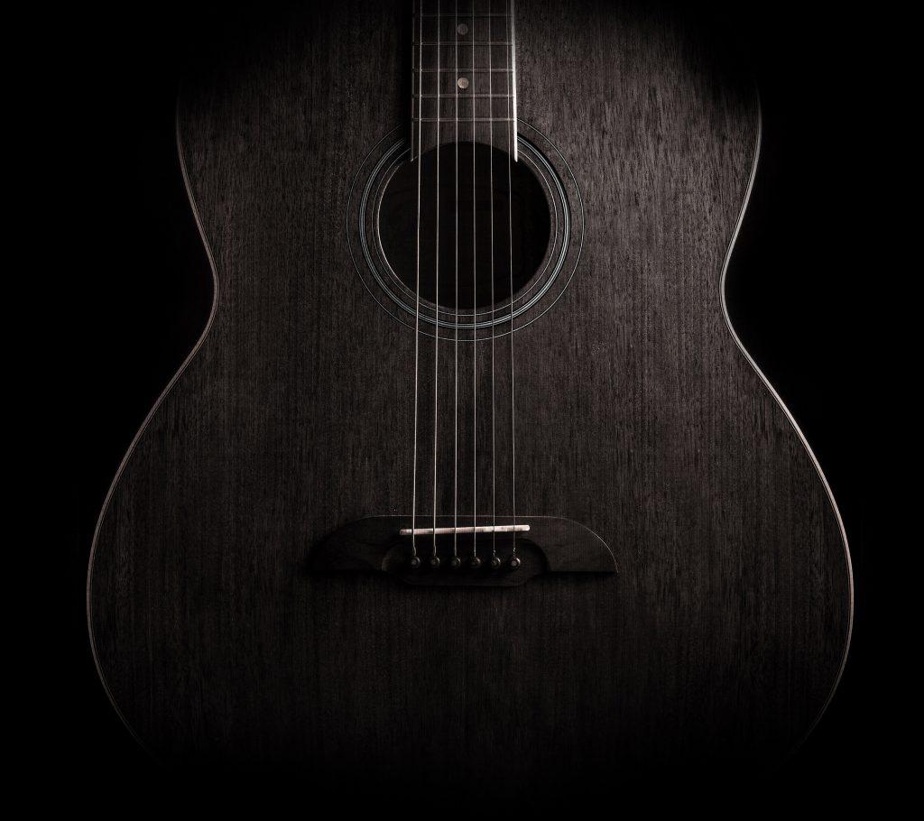 Free Download Guitar Dark Music Instrument 4k Wallpaper Best